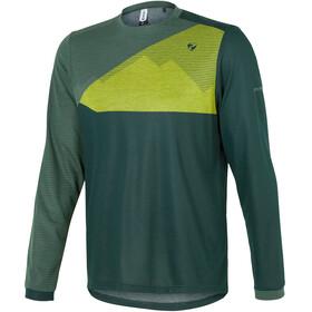 Ziener Egme Longsleeve Shirt Men spruce green
